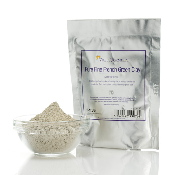 超細法國綠泥潔淨面膜粉
